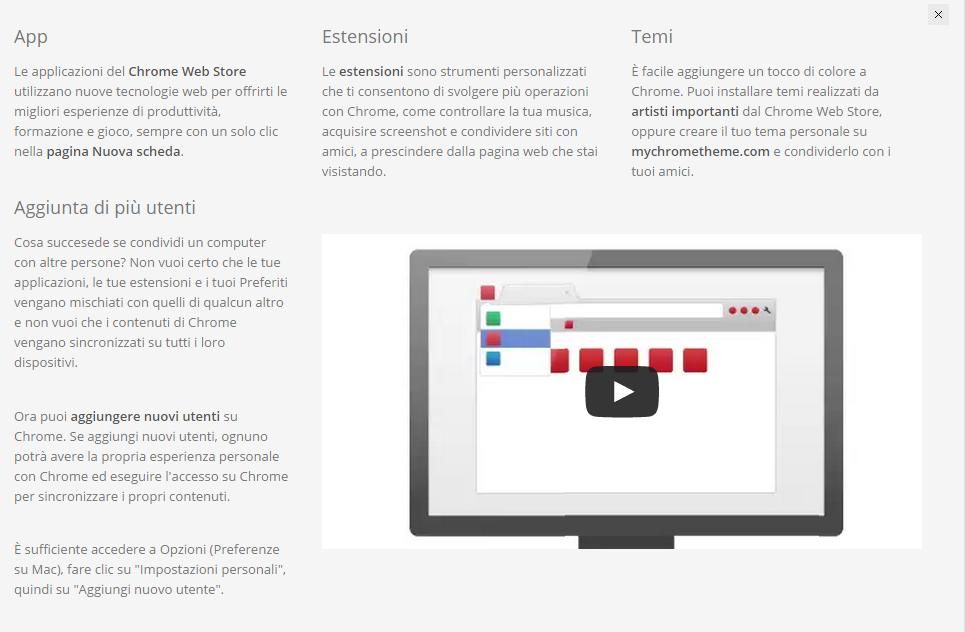 Google-chrome-personalizzazione