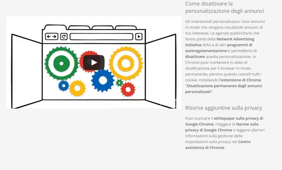 privacy-istruzioni-google-chrome
